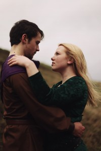 Jacob Close as Artos and Miriam Wright as Guenhumara
