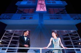 John Hopkins as Elyot Chase and Kirsty Besterman as Amanda Prynne by Tommy Ga -Ken Wan