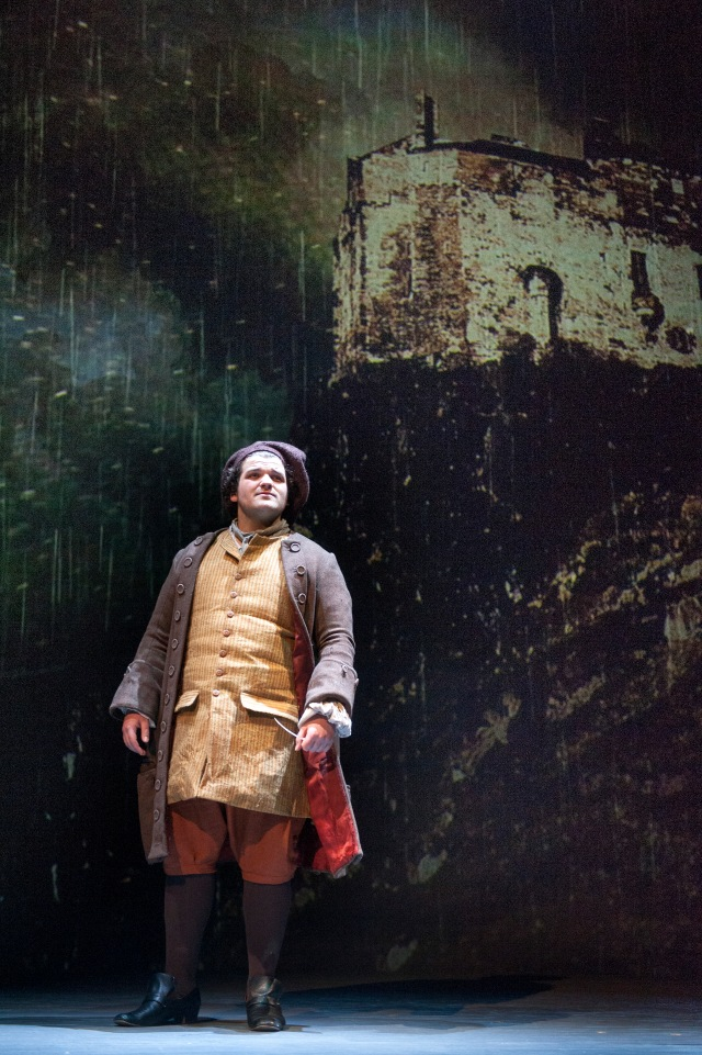 Josh Whitelaw as Allan Ramsay in Tim Barrow's Union. Photo by Tim Morozzo