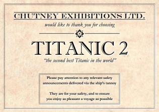 Titanic 2 intro