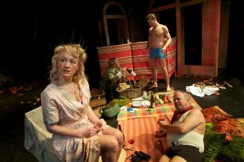 Clockwise: Joanna Bending, Jeremy Todd, Adam Slynn, Roger Ringrose.