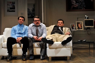 (l to r) Philip Cairns, SteveMcNicol, Josh Whitelaw