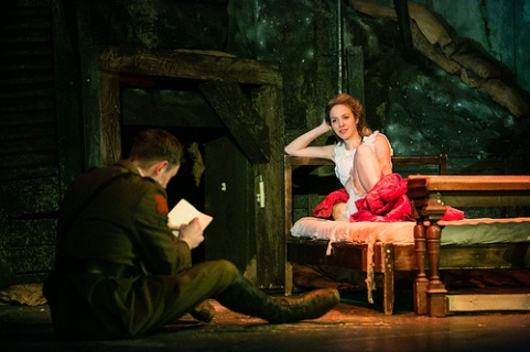 Edmund Wiseman as Stephen Wraysford and Emily Bowker as Isabelle Azaire. Photos: Jack Ladenburg