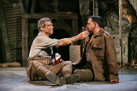 Peter Duncan as Jack Firebrace and Liam McCormick as Arthur Shaw