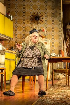 Gregor Fisher as Granny. Photography: Manuel Harlan