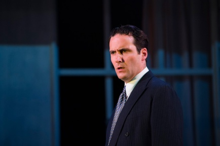 Robbie Jack as Chris. Photo. Rapture Theatre.