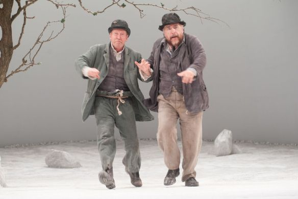 Bill Paterson and Bian Cox as Estragon and Vladimir. Photos by Alan McCredie.