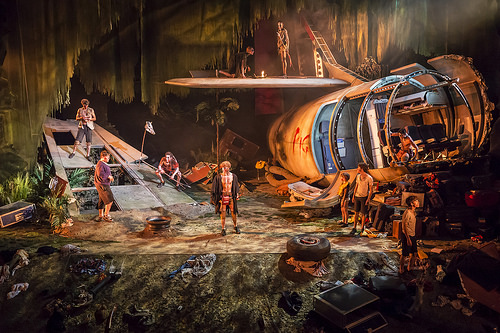 Set design: Jon Bausor Photo: Regent's Park Theatre.