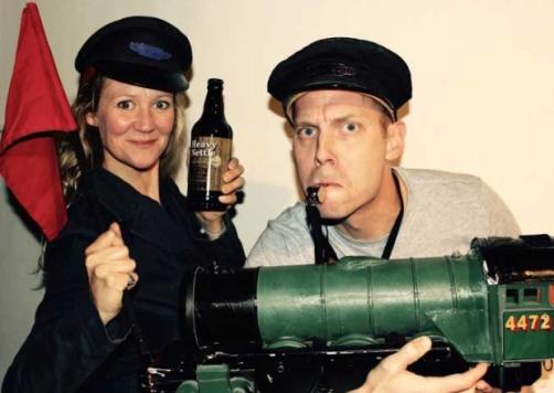 Ellie Zeegen and Simon Donaldson Photo: Firebrand Theatre