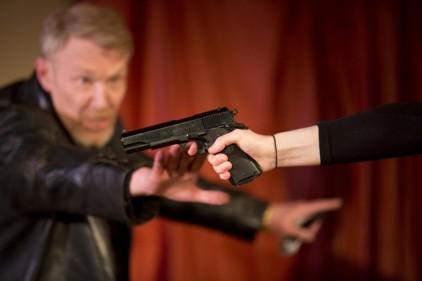 Ian Sexon as Brady from the 2013 Siege Perilous production. Photo: Nicola Garman